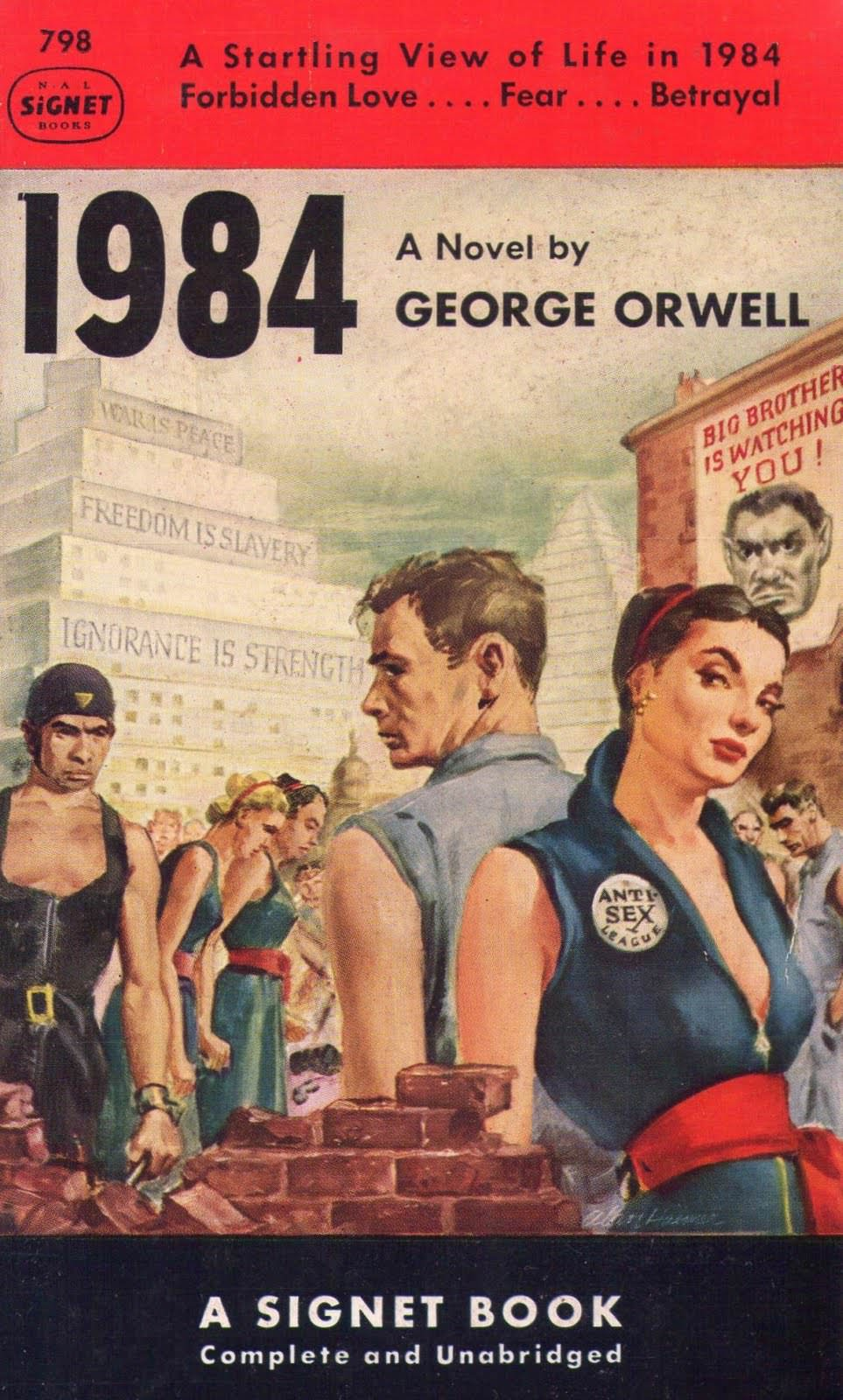 1984 by George Orwell?