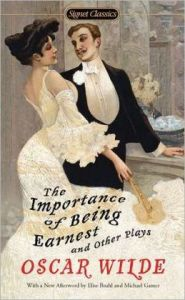 The Importance of Being Earnest by Oscar Wilde is today's AP reading choice for the #Book-A-Day challenge.