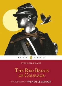 An American classic, the Red Badge of Courage by Stephen Crane,  is today's choice for #Book-A-Day