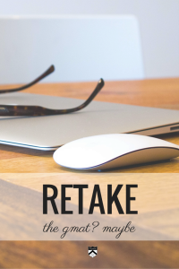 Kate gives you advice on when and when not to retake the #GMAT.
