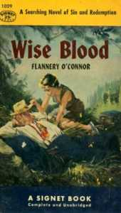 Flannery O'Conner's Wise Blood is our suggestion today for #Book-A-Day.