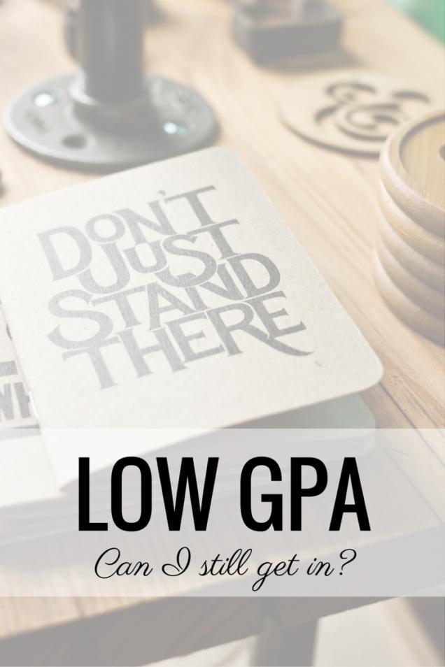 low gpa