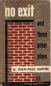 No Exit by Jean-Paul Sartre explores human relations and is our choice for today's #Book-A-Day reading suggestion.