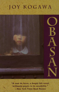 Obasan by Joy Kogawa is our choice today for the #Book-A-Day challenge.