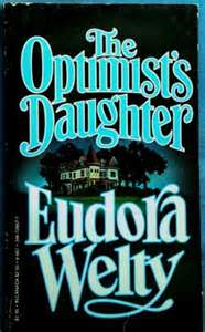 The Optimist's Daughter by Eudora Welty explores how much the past affects the present.  #Book-A-Day