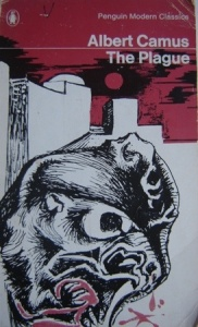 Another Albert Camus novel for our #Book-A-Day choice: The Plague.