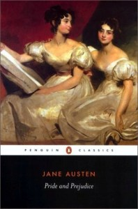 Pride and Prejudice by Jane Austen is one of my favorites which, in my mind, makes it a great choice for today's reading suggestion.  #Book-A-Day