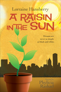 Lorraine Hansberry's A Raisin in the Sun. Our #Book-A-Day suggestion  for today.
