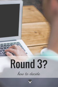 Applying to #bschool in Round 3 is not a straightforward decision. There are some important considerations to take into account before making that decision.