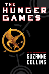 It's light reading for today's #Book-A-Day:  They Hunger Games by Suzanne Collins.