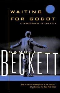 A great read by Samuel Beckett:  Waiting for Godot.  #Book-A-Day.