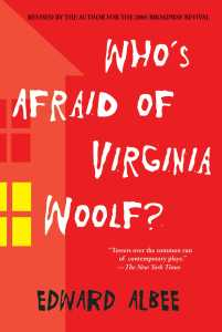 Today's #Book-A-Day choice is Who's Afraid of Virginia Woolf by Edward Albee.
