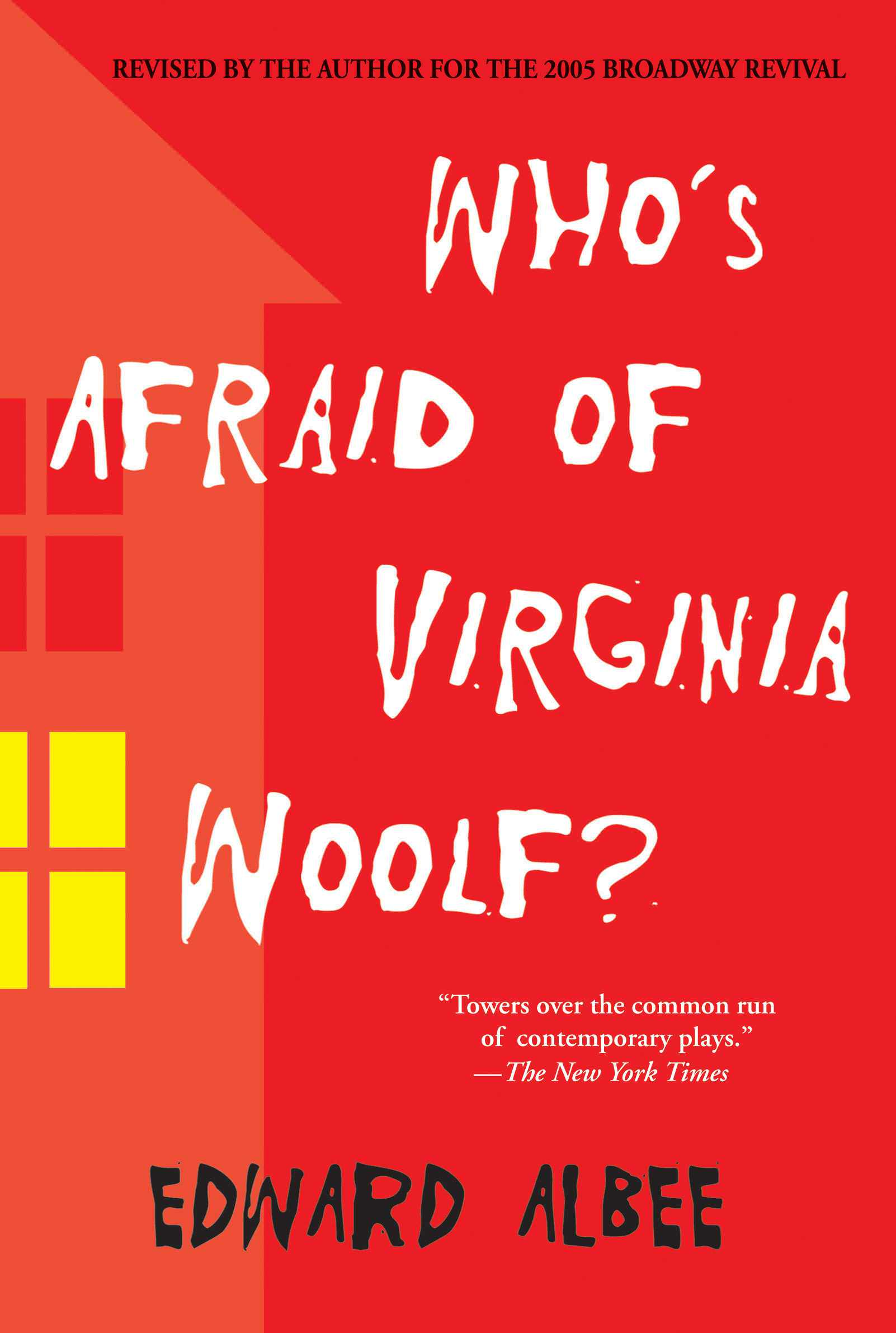 whos afraid of virginia woolf the Virginia woolf was a writer famous for her stream of consciousness style woolf tried to show the emotional truths churning behind the eyes of her characters she tried to get inside their heads and really show what it was like to be them also, woolf, like albee, was a product of the upper class.