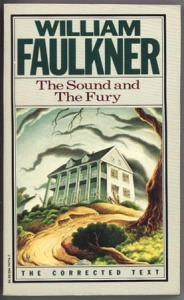 William Faulkner's The Sound and the Fury is our suggested AP reading for today.